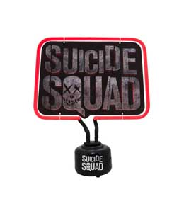 Photo du produit LAMPE NEON SUICIDE SQUAD LOGO 33 X 20 CM Photo 1