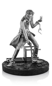 DC COMICS STATUETTE PEWTER COLLECTIBLE 1/12 JOKER 17 CM