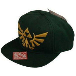 THE LEGEND OF ZELDA CASQUETTE HIP HOP SNAP BACK EMBROIDED GOLD LOGO
