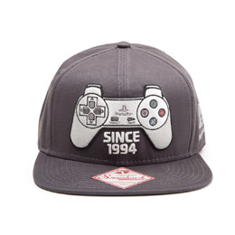 Photo du produit SONY PLAYSTATION CASQUETTE HIP HOP SNAP BACK CONTROLLER