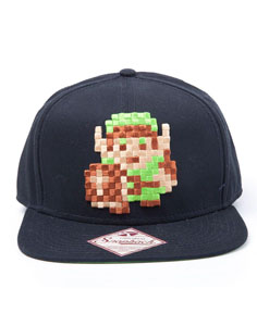 CASQUETTE HIP HOP THE LEGEND OF ZELDA LINK 8BIT