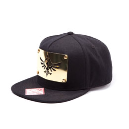 CASQUETTE HIP HOP THE LEGEND OF ZELDA SNAP BACK GOLDEN METAL PLATE
