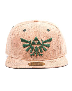 CASQUETTE THE LEGEND OF ZELDA SNAP BACK TRIFORCE LOGO CORK