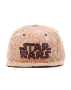STAR WARS CASQUETTE HIP HOP SNAP BACK LOGO CORK
