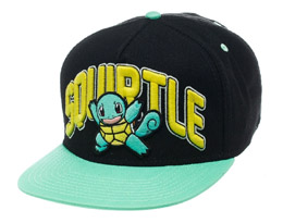 POKEMON CASQUETTE HIP HOP SNAP BACK SQUIRTLE