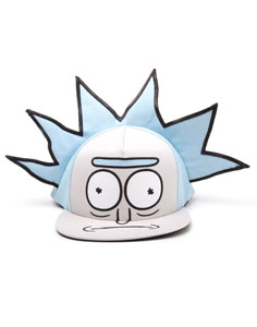 Photo du produit RICK ET MORTY CASQUETTE HIP HOP SNAPBACK RICKS FACE