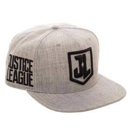 JUSTICE LEAGUE CASQUETTE HIP HOP MOVIE CHARACTER LOGOS