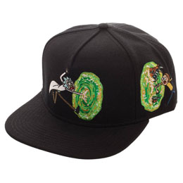 RICK & MORTY CASQUETTE HIP HOP PORTAL