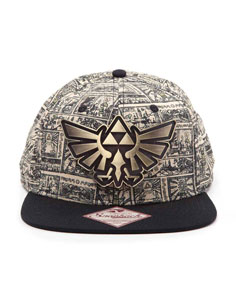 CASQUETTE HIP HOP ZELDA STORYBOARD - THE LEGEND OF ZELDA