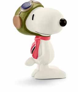 PEANUTS FIGURINE FLYING ACE 6 CM