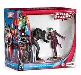 JUSTICE LEAGUE PACK 2 FIGURINES BATMAN VS. THE JOKER