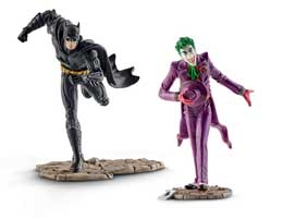 Photo du produit JUSTICE LEAGUE PACK 2 FIGURINES BATMAN VS. THE JOKER Photo 1