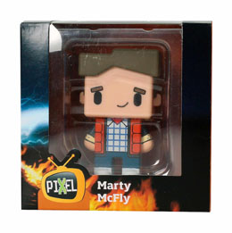 Photo du produit FIGURINE RETOUR VERS LE FUTUR PIXEL MARTY MCFLY Photo 4