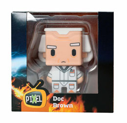Photo du produit FIGURINE RETOUR VERS LE FUTUR PIXEL DOC BROWN Photo 3