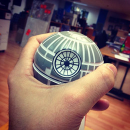 ANTISTRESS DOLL STAR WARS DEATH STAR