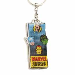 MARVEL PORTE CLE METAL AVENGERS GROUP