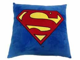 DC UNIVERSE COUSSIN SUPERMAN LOGO CARRE