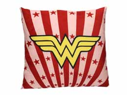 Photo du produit DC UNIVERSE COUSSIN WONDER WOMAN LOGO CARRE