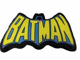 DC UNIVERSE COUSSIN BATMAN LOGO LETTRES