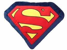 DC UNIVERSE COUSSIN SUPERMAN LOGO LETTRES