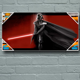 POSTER EN VERRE STAR WARS DARTH VADER