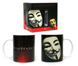 V FOR VENDETTA MUG MASQUE