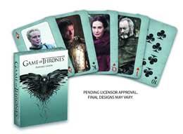 GAME OF THRONES JEU DE 52 CARTES NOUVELLE ÉDITION
