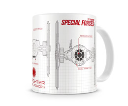 MUG STAR WARS EPISODE 7 BLUEPRINT SPECIAL FORCES