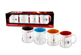 SET DE 4 TASSES EXPRESSO STAR WARS EPISODE 7