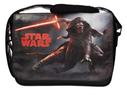Photo du produit SAC BESACE STAR WARS EPISODE 7 AVEC KYLO REN LIGHTSABER