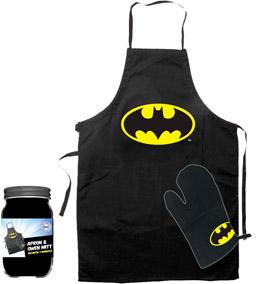 Photo du produit DC UNIVERSE PACK TABLIER ET GANT BATMAN