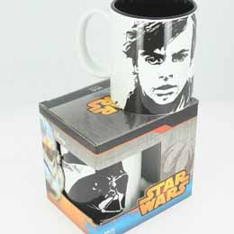 SW MUG CÉRAMIQUE LUKE SKYWALKER DARTH VADER