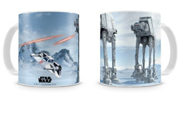 STAR WARS MUG CÉRAMIQUE BATTLE OF HOTH