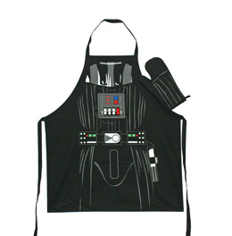 STAR WARS SET TABLIER & GANT DE CUISINE DARTH VADER
