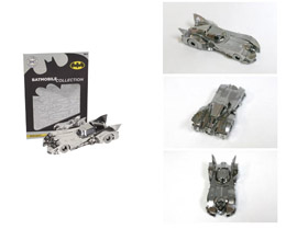 BATMAN 3D METAL PUZZLE BATMOBILE 1989
