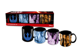 STAR WARS COFFRET DE 4 TASSES A EXPRESSO REBELS EXCLU