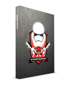 CAHIER LUMINEUX STAR WARS EPISODE 7 STORMTROOPER 15X20CM