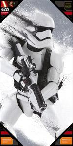 Photo du produit POSTER EN VERRE STAR WARS EPISODE 7 50X25CM STORMTROOPER SNOW