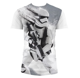 T-SHIRT HOMME STAR WARS EPISODE 7 STORMTROOPER SNOW