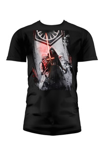 T-SHIRT HOMME STAR WARS EPISODE 7 FIRST ORDER NOIR