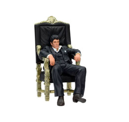 Photo du produit SCARFACE STATUETTE PVC MOVIE ICONS TONY MONTANA 18 CM Photo 1