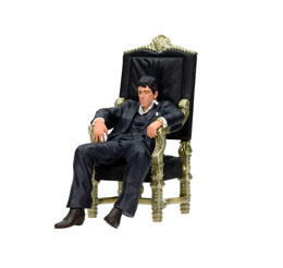 Photo du produit SCARFACE STATUETTE PVC MOVIE ICONS TONY MONTANA 18 CM Photo 2