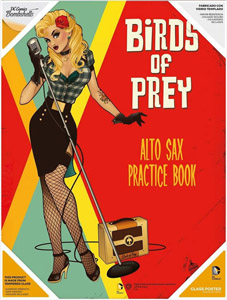 DC COMICS BOMBSHELLS POSTER EN VERRE BIRDS OF PREY
