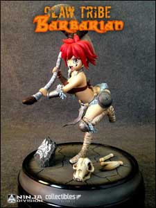 STATUETTE SUPER DUNGEON EXPLORE CLAW TRIBE BARBARIAN