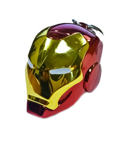 PORTE-CLE METAL IRON MAN HELMET MARVEL COMICS