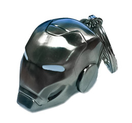 PORTE-CLE METAL IRON MAN HELMET MARK II MARVEL COMICS