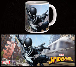 MUG MARVEL COMICS BLACK SUIT SPIDER-MAN