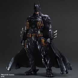 DC COMICS VARIANT PLAY ARTS KAI FIGURINE BATMAN ARMORED 28 CM --- EMBALLAGE ENDOMMAGE