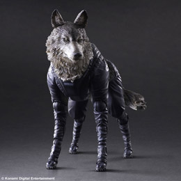 METAL GEAR SOLID V THE PHANTOM PAIN PLAY ARTS KAI FIGURINE D-DOG