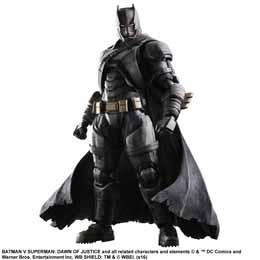 BATMAN V SUPERMAN DAWN OF JUSTICE PLAY ARTS KAI FIGURINE ARMORED BATMAN 25 CM